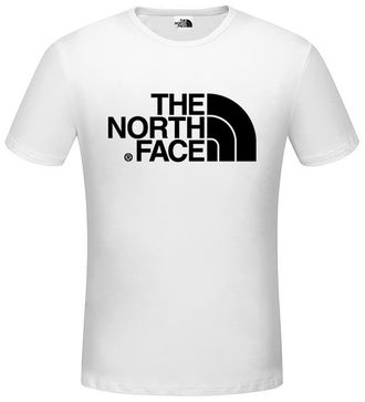 Белая футболка The North Face