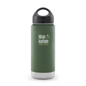 Термос Klean Kanteen небольшой Vineyard Green 473 мл