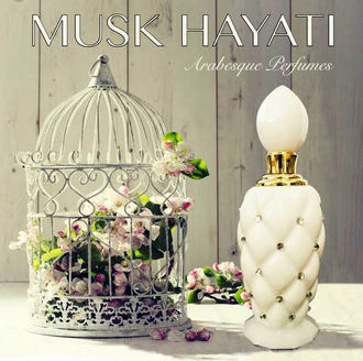 масляные духи Musk Hayati / Муск Хаяти от Arabesque