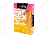 Презервативы Domino Sweet Sex Mango №3 с ароматом манго