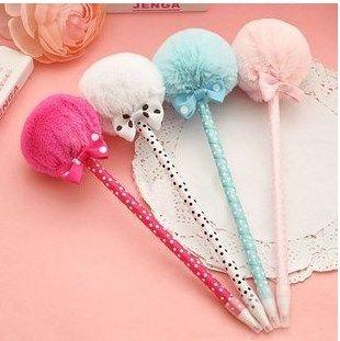 шариковые ручки для девочек 5 шт.