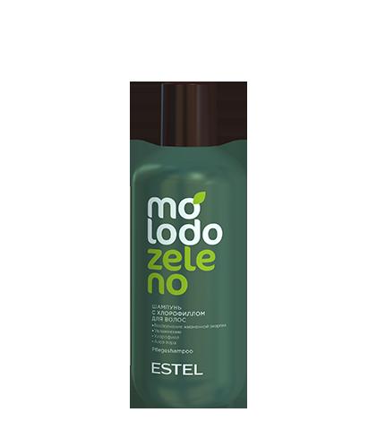 Шампунь с хлорофиллом для волос MOLODO ZELENO 250 мл