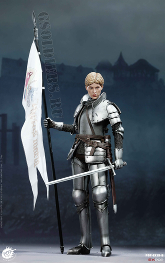 Жанна д'Арк, Орлеанская дева (Версия Б) - КОЛЛЕКЦИОННАЯ ФИГУРКА 1/6 scale Saint Knight Triumph version (EX019-B) - POPTOYS