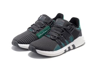 Adidas EQT Support 93-17 Black/Turquoise черно-бирюзовые