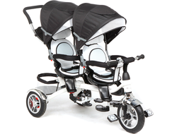 Велосипед для Двойни Capella Twin Trike Графит