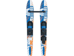 Лыжи парные прогулочные Connelly SUPSPOPAIR - JR SLIDE ADJ Blue/White/Orange S18