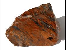 Обсидиан коричневый, необработанный образец, Армения (205*160*58 мм, 2304 г) №14121