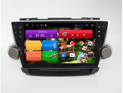 "Автомагнитола MegaZvuk T8-1027 Toyota Highlander II (2007-2014) на Android 7.1.2 Octa-Core (8 ядeр) 10,1"" Full Touch"