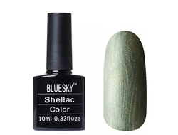 Гель лак Shellac BLUESKY 40572  FROSTED GLEN 10ml