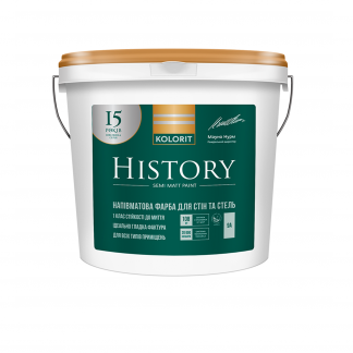 Краска Kolorit History
