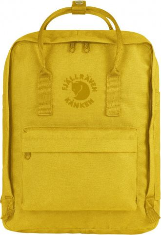 Рюкзак Fjallraven Kanken Sunflower Yellow (Re-Kanken)