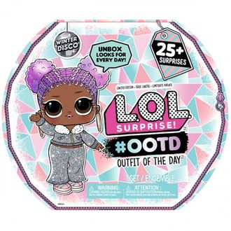 MGA Entertainment L.O.L. Surprise Outfit Of The Day WINTER DISCO Адвент Календарь ЛОЛ Зимнее диско, 559740