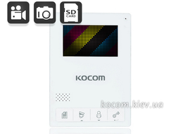 Kocom KCV-434SD white