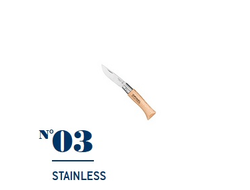 Нож Opinel №03 Stainless Steel