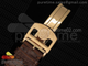 Portuguese Real PR RG IW500702 ZF 11 Best Edition on Brown Leather Strap