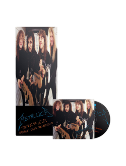 METALLICA - THE $5.98 E.P. - GARAGE DAYS RE-REVISITED LONGBOX