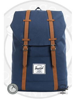 Herschel Retreat Backpack Navy. Интернет магазин Bagcom