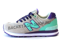 Кроссовки New Balance 574 Gray\Purple