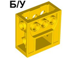 Technic, Gearbox 2 x 4 x 3 1/3, Yellow (6588 / 658824)