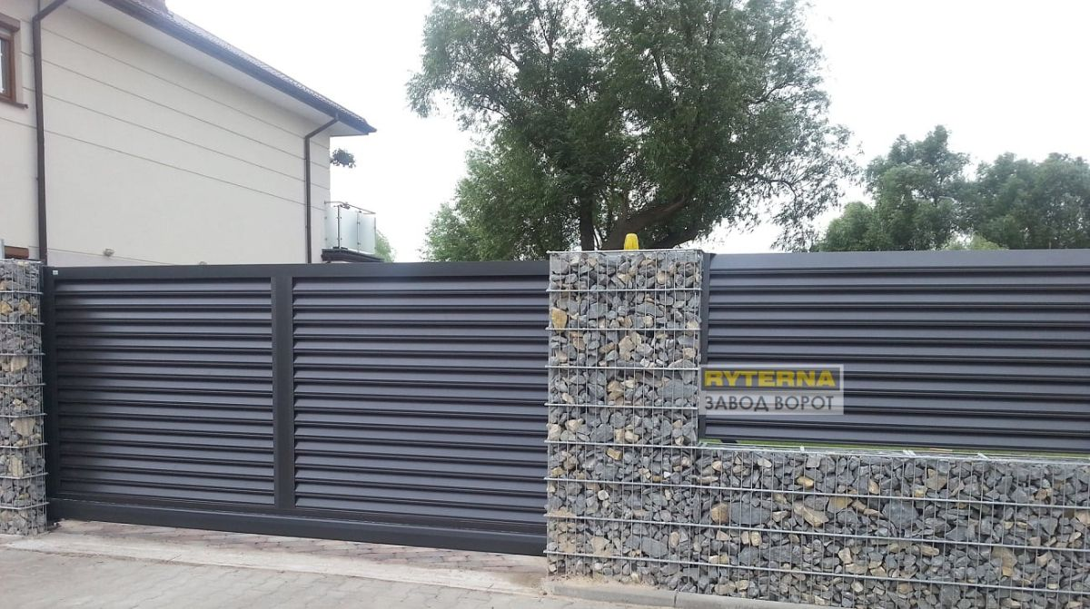 заборы жалюзи - изготовление уличных решетчатых конструкций - днепр - киев - харьков