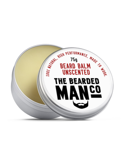 Бальзам для бороды The Bearded Man Company, Unscented (Без запаха), 75 гр