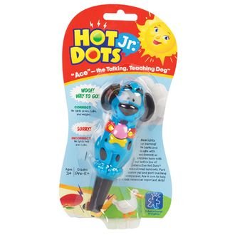 Hot dots original pen dog