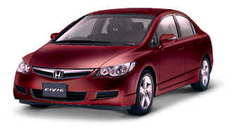 Чехлы на Honda Civic VIII седан (2006-2012)