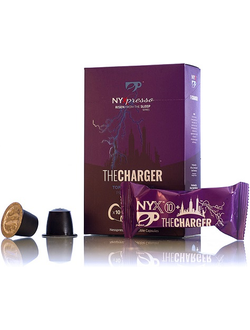 Кофе в капсулах NYXpresso, The Charger-10+, 10 порций