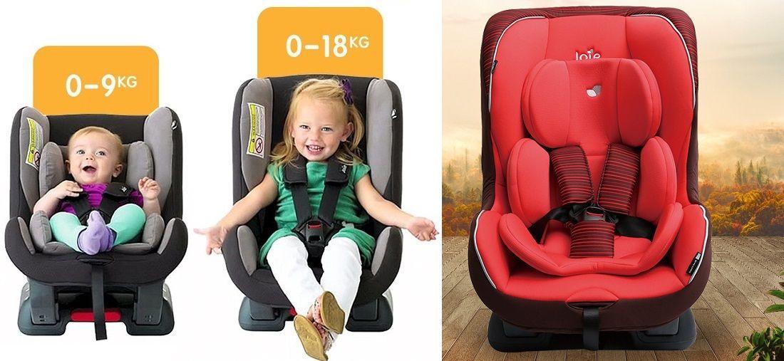 Описание: Детское автокресло Joie Tilt Группа  0+/1 для детей с рождения до 18 кг.
