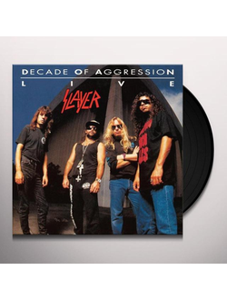 SLAYER Decade Of Aggression Live 2-LP