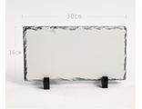 Фотокамень SH16 16х30 см прямоугольник