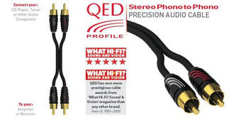 QED Profile Stereo Phono to Phono