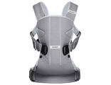 Рюкзак Кенгуру BabyBjorn One Cotton Серый деним Little gray seal
