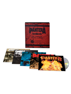 PANTERA - THE COMPLETE STUDIO COLLECTION BOX SET 5-CD