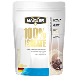 (Maxler) 100% Isolate - (900 гр) - (кофе со льдом)