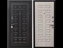 Входная дверь 12 см СЕНАТОР МДФ/МДФ Белый ясень