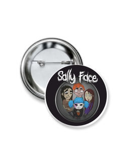 Значок Sally Face № 11