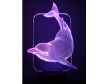 Dolphin-night-light