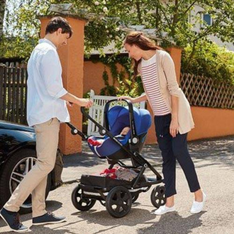 Britax roemer baby-safe i-size и база flex Mystic black