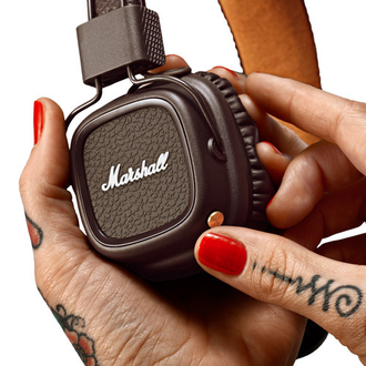 Marshall Major II Bluetooth Brown в soundwavestore-company.ru