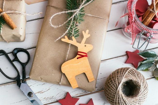 изображение новогодние подарки своими руками