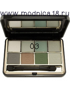 Тени для век Chanel Les 8 Ombres Ombres A Paupies Quatuor Qadra Eye Shadow 74Nymphea