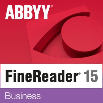 ABBYY FineReader PDF 15 Business 1 year Standalone ( подписка на 1 год,  AF15-2S4W01-102 )