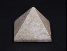 Пирамида Коралл окаменелый, Индонезия (30*30*25 мм, вес: 25 г) №16980
