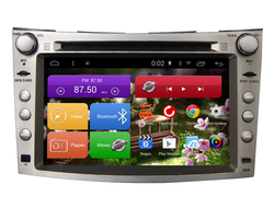 Автомагнитола MegaZvuk AD-7025 Subaru Legacy V (2009-2015) на Android 6.0.1 Quad-Core (4 ядра) 7""