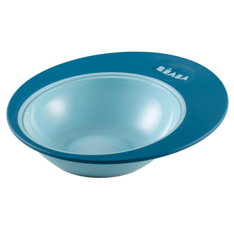 "BEABA тарелка TRAINING PLATE ""ELLIPSE"" BLUE"