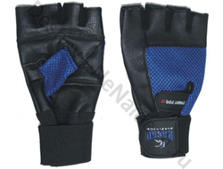 Перчатки для фитнеса Kango WGL-067 Black/Blue