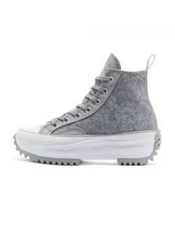 Кеды Converse Run Star Hike Black Ice High Top серые