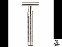 Т-образная бритва MUEHLE ROCCA, нержавеющая сталь, закрытый тип головы