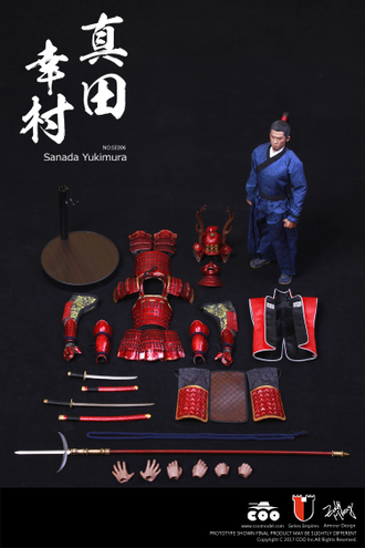 Самурай Санада Юкимура (стандартная версия) - Коллекционная фигурка 1/6 SERIES OF EMPIRES - JAPAN'S WARRING STATES - SANADA YUKIMURA (SE006) - COOMODEL